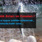 Amatör Balık Avcılığı Yasaklar ve Cezalar