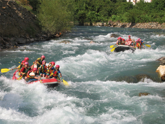 Türkiye'de rafting yapılacak en iyi 10 nehir