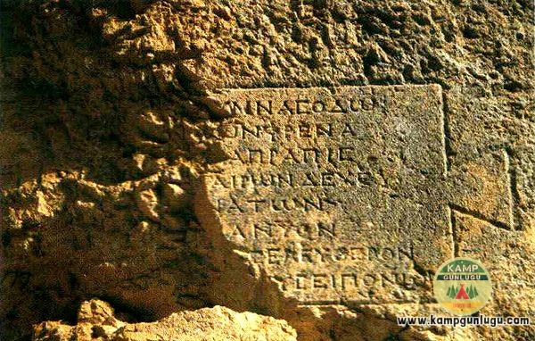Yazılı Kanyon – Isparta