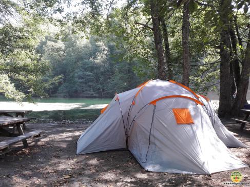 Turizm için Camping