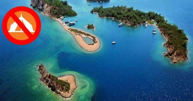 Adalardaki Kamp Yasağı