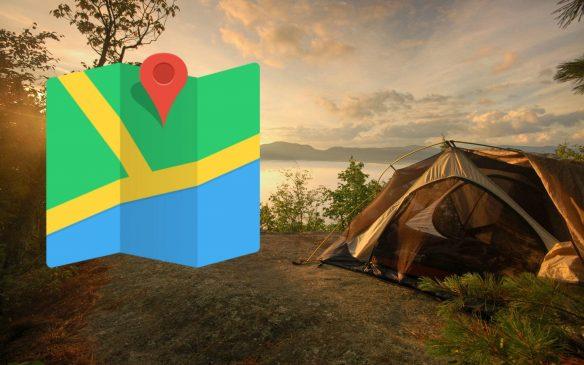 En Yakın Kamp Alanları Harita