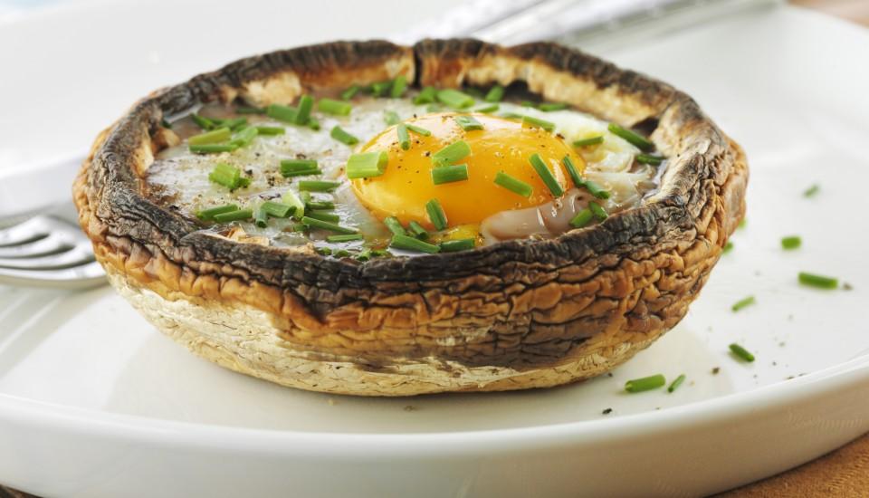 Bıldırcın Yumurtalı Mantar Yemek Tarifi