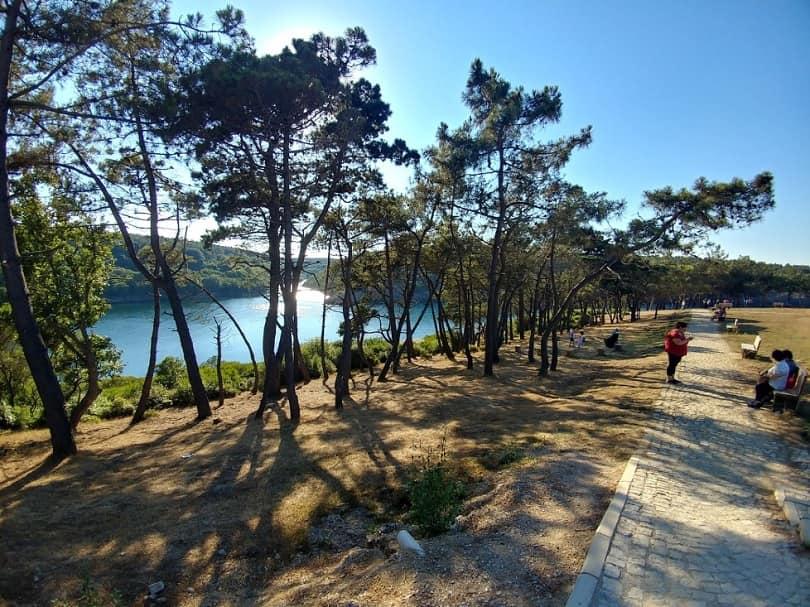 hamsilos tabiat parkı akliman koyu