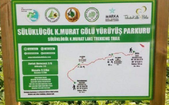 Sülüklü Göl K.Murat Gölü Yürüyüş Parkuru