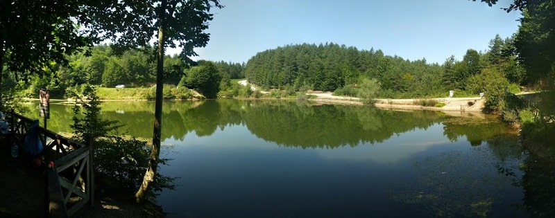 çamlıpınar gölü düzce