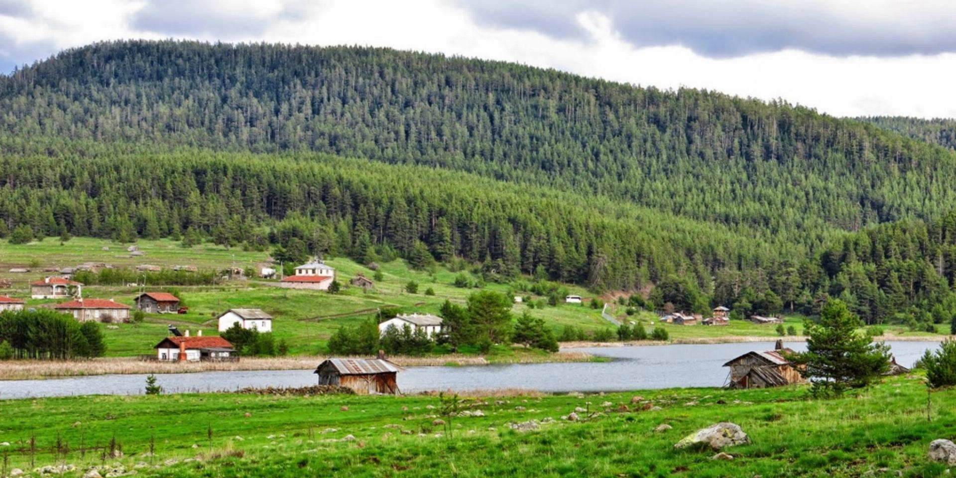 Eğriova Yaylası Göleti | Ankara Kamp