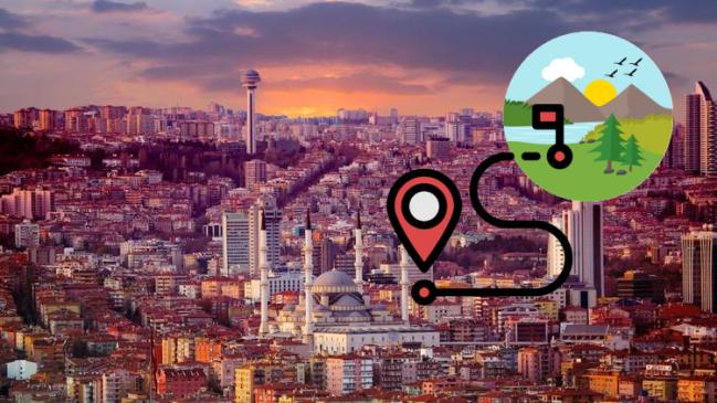 Ankara Kamp Alanları En iyi Liste