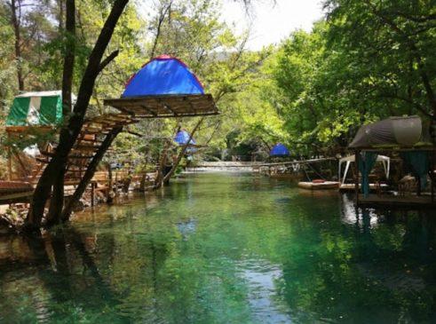 Yeşilvadi  Doğa Park Fethiye Kamp Alanı Bilgi
